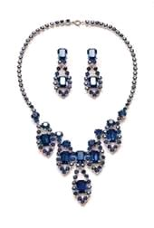 Strass-Collier-Set